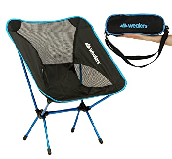 Captivating Compact Foldable Beach Backpacking Camping Chair Potable Stool Ultra  Lightweight Aluminium Alloy Super Comfort Perfect For