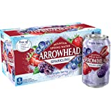 Arrowhead Sparkling Water, Triple Berry, Cans (Pack of 8), 12 Fl. Oz.