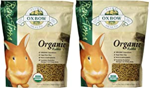 (2 Pack) Oxbow Bene Terra Organic Rabbit Food, 3 lb