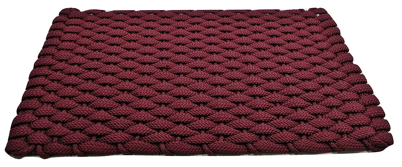 20 x 38 Navy Blue with Navy Blue Insert 20 x 38 Texas Doormats Rockport Rope Doormats 2038302 Indoor and Outdoor Doormat