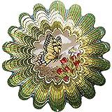 Iron Stop Windspiel Windspiel Animierter Schmetterling, Sepia, 25cm
