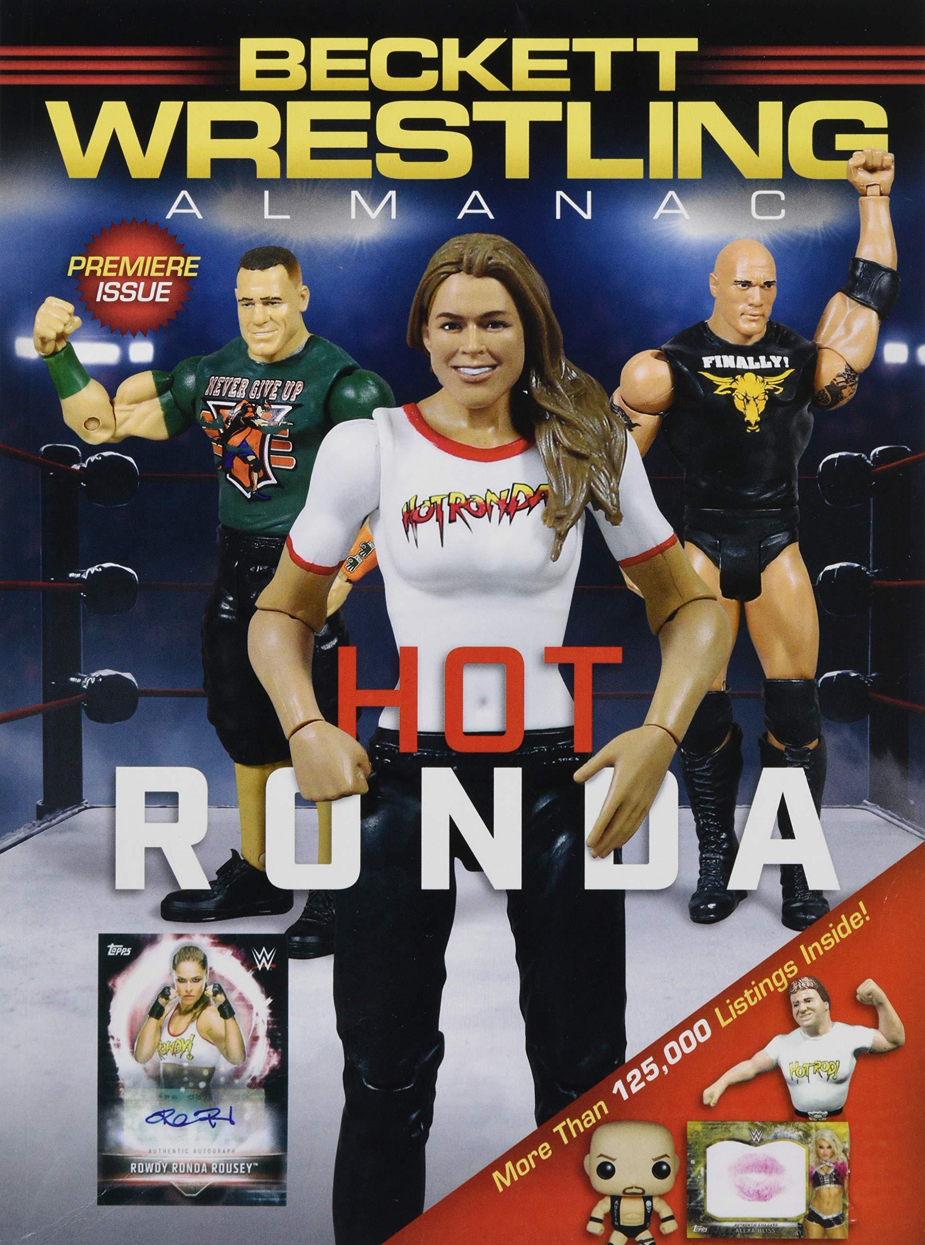 Beckett Wrestling Almanac 2019 Beckett Media 9781936681532 Amazon