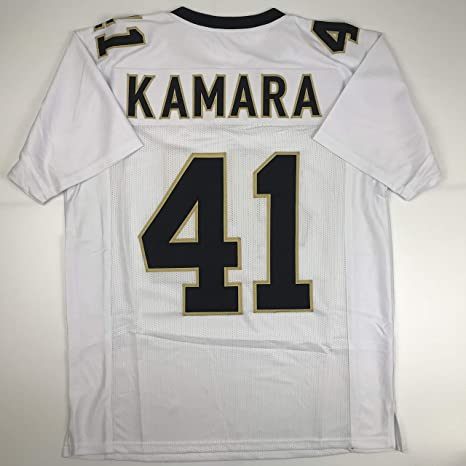 check out ca7f2 88888 Amazon.com: Unsigned Alvin Kamara New Orleans White Custom ...