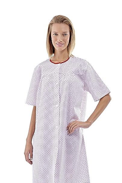 CAMISON HOSPITAL- PACIENTE BOTONES (XL): Amazon.es: Industria, empresas y ciencia