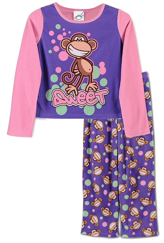 Sizes 8-14 Bobby Jack Big Girls 2 Piece Pajama Set