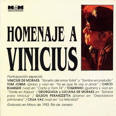 - Homenaje a Vinicius De Moraes - Amazon.com Music
