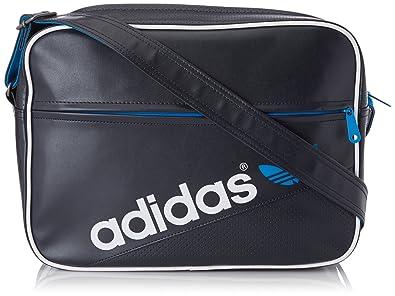 0870c1dd69 adidas Originals Airliner Perf, Sac porté épaule - Bleu (Enccla/Blesol/Blanc),  Taille Unique: Amazon.fr: Chaussures et Sacs