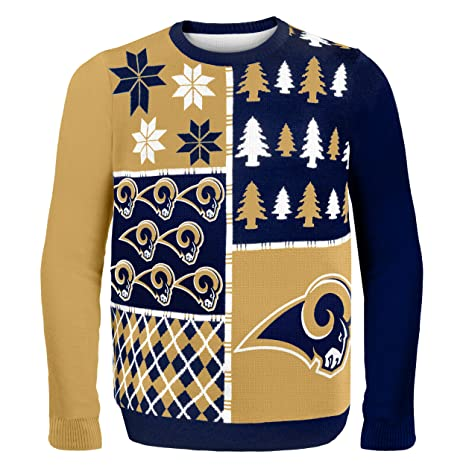 1ef5662e5c7 Amazon.com   NFL Busy Block Ugly Sweater   Sports   Outdoors