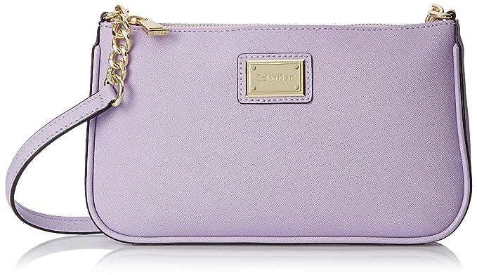 Amazon.com: Calvin Klein Calvin Klein Saffiano Demi – Bolso ...