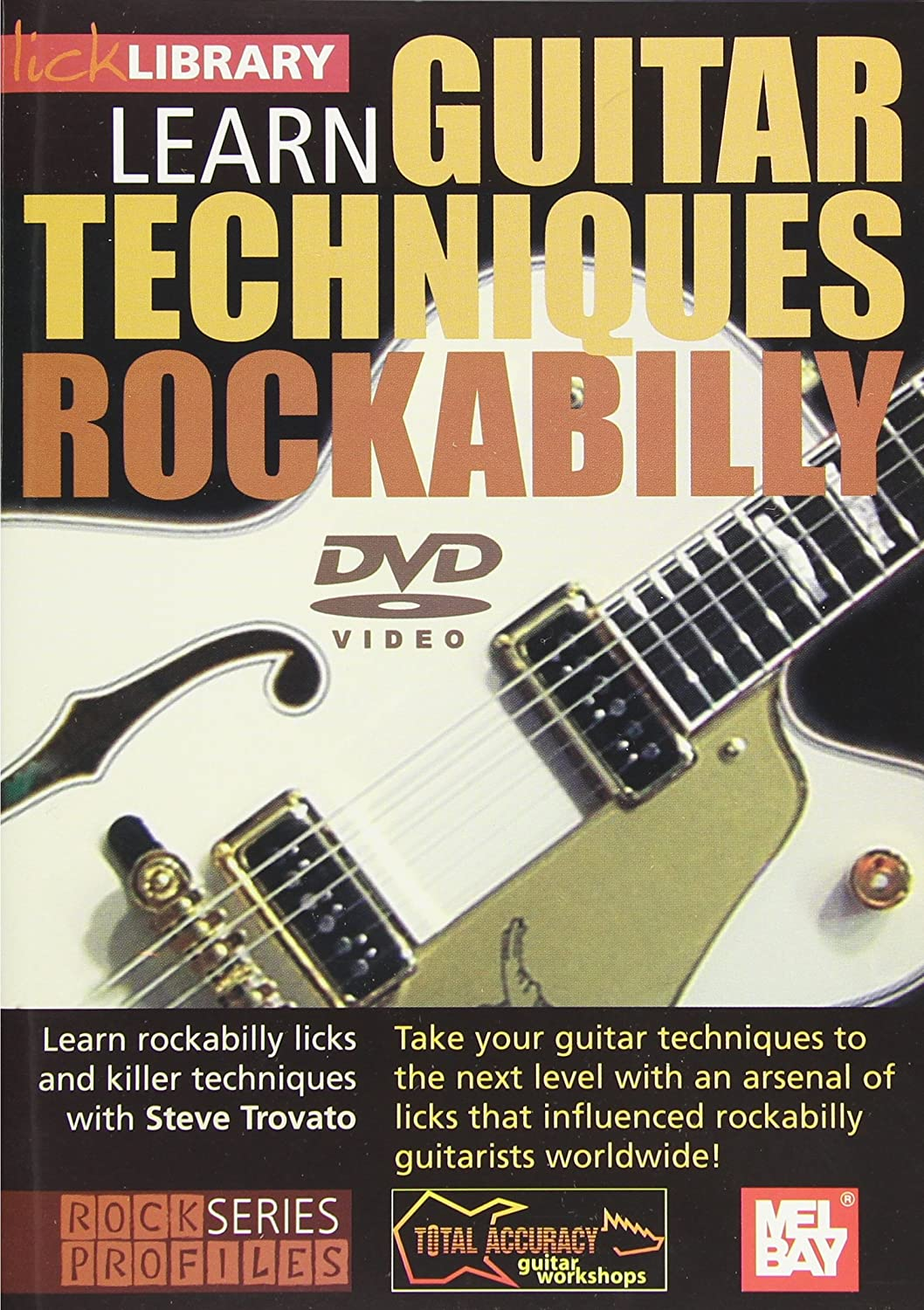 Learn Guitar Techniques: Rockabilly Brian Setzer Reino Unido DVD ...
