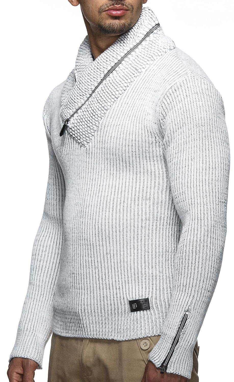 LEIF NELSON Men's Knit Jumper LN4170