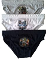 Boys Avengers Briefs Pants Underpants Underwear - 3 Pack - Official Licenced