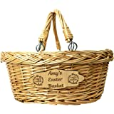 Handmade Centimeter Eco 21x21x14 Bamboo Hamper Basket