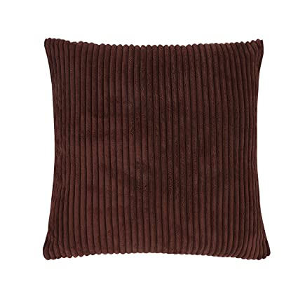 Delicieux Famibay Throw Pillow Cover 24x24,Striped Corduroy Cushion Cover Sofa Pillow  Case Covers Zipper Decorative