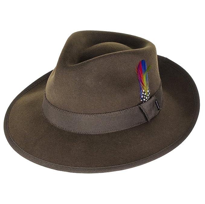 Stetson Hats - Sombrero de vestir - para hombre verde verde Large  Amazon.es   Ropa y accesorios cf0159685cf
