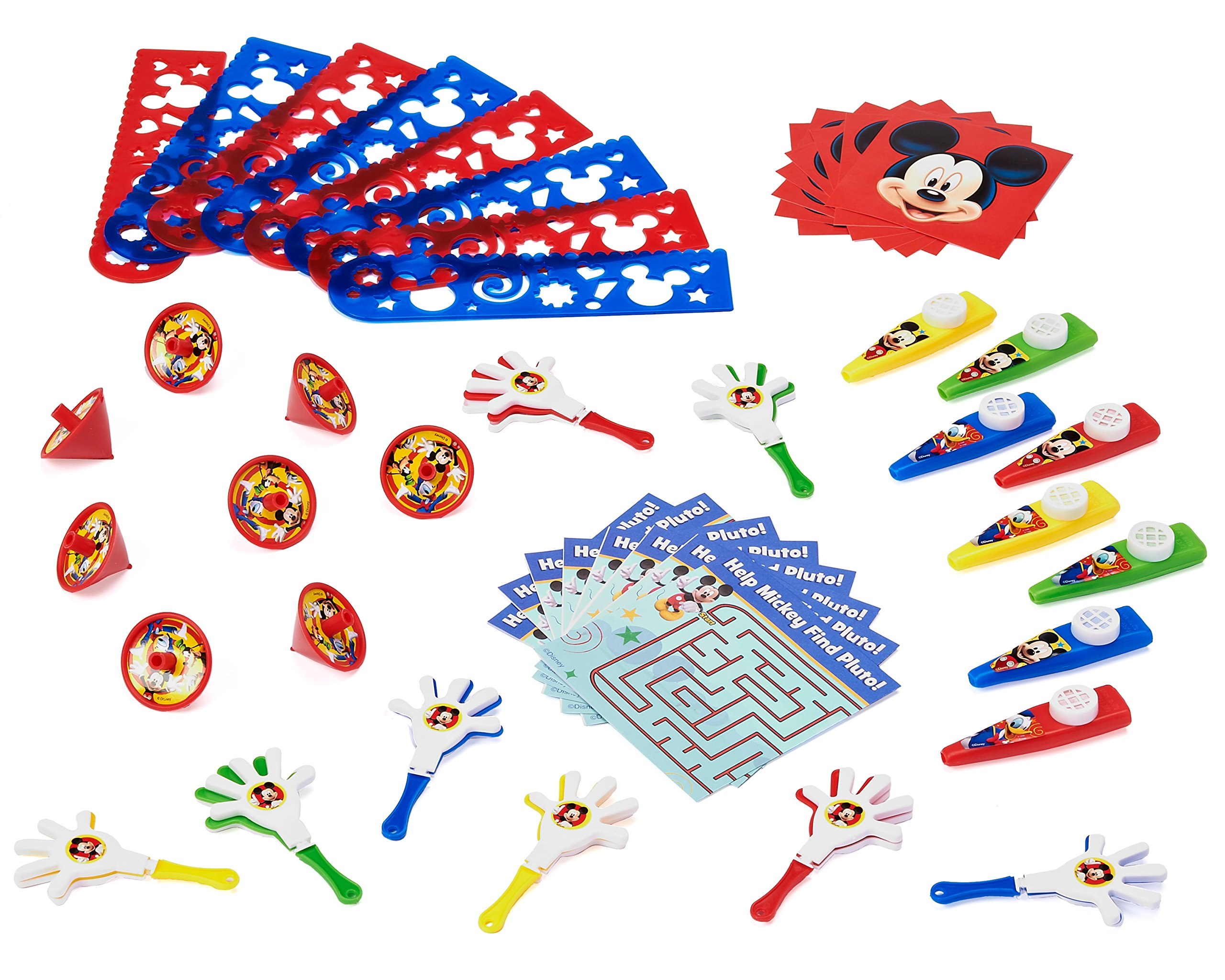 American Greetings Mickey Mouse Clubhouse Party Favor Pack, Value Pack, Party Supplies