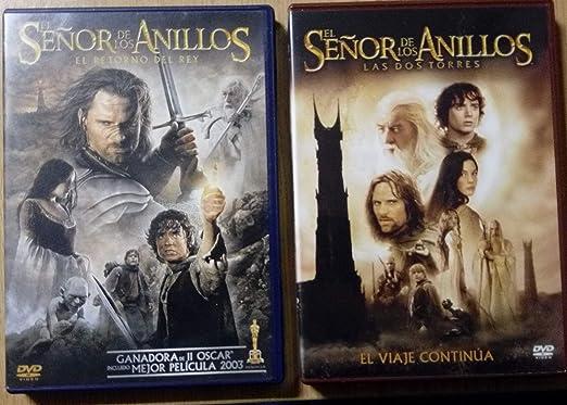 El Señor de los Anillos 2. Las dos torres 2 discos DVD: Amazon.es ...