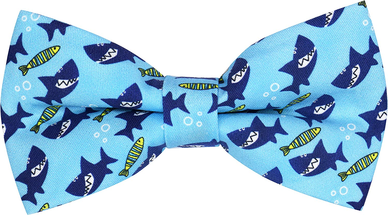 OCIA Funny Pattern Pre-tied Bow Tie Cotton Adjustable Bowtie for Mens & Boys - Various Patterns