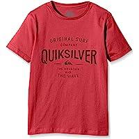 Quiksilver Claim It B Tees Rpy0 Camiseta, Niño