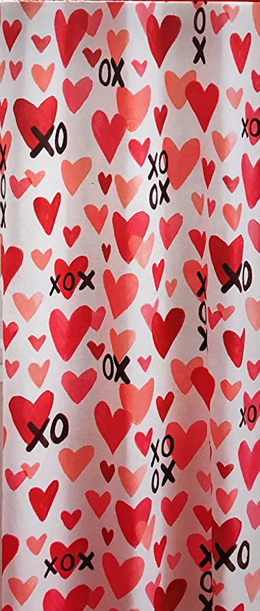 Amazon.com: Valentine Shower Curtain For Bathroom - 70 inches by ...
