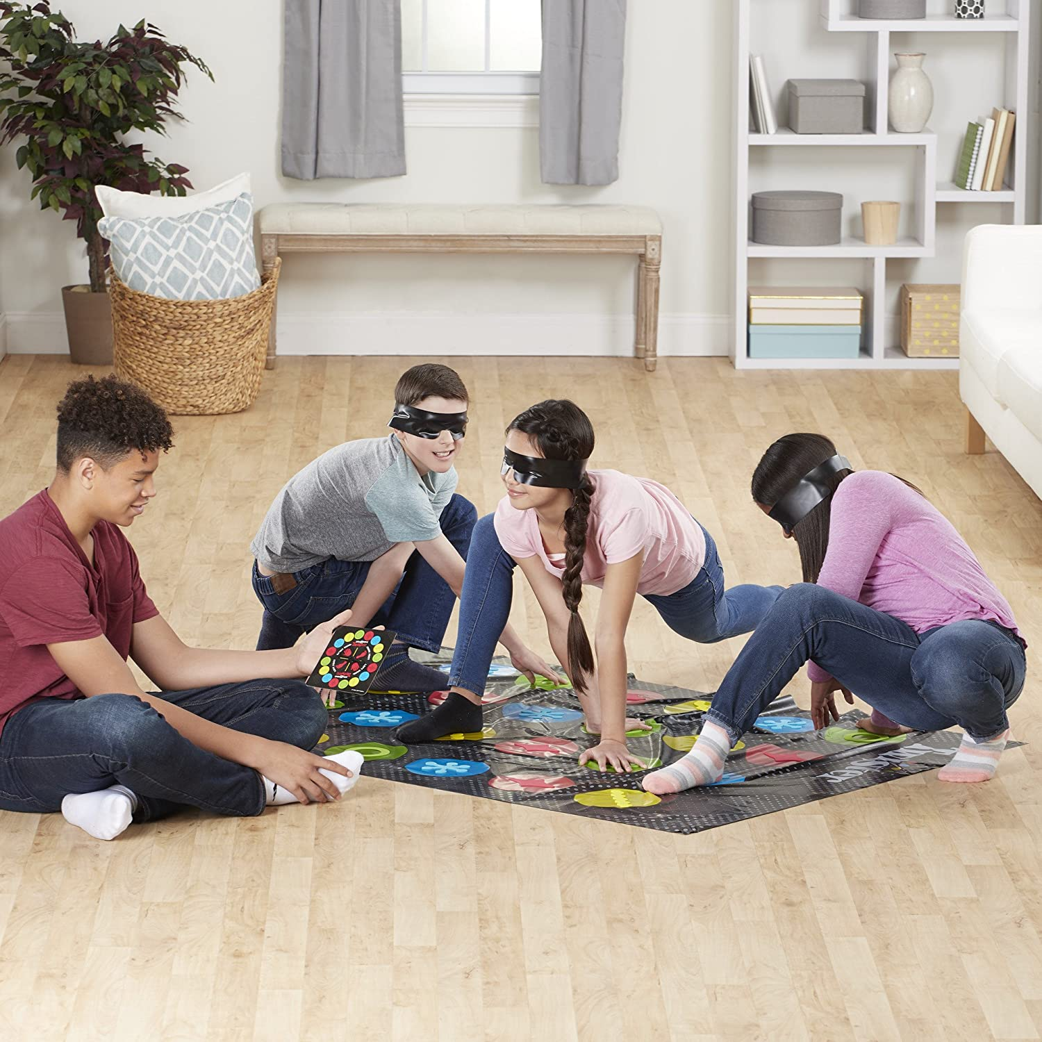 Blindfolded Twister Game ONLY.