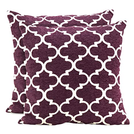 Amazon Spencer Home Decor Club Lattice Decorative Pillow Set Of Custom Spencer Home Decor Tweets Bird Throw Pillow