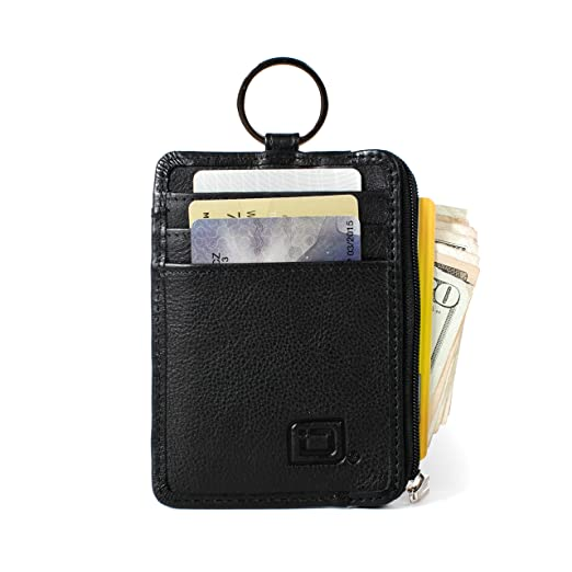 RFID Wallet Key Ring Mini - Protective Wallet for Credit Cards - RFID  Blocking Leather Wallets 867e3111aee2