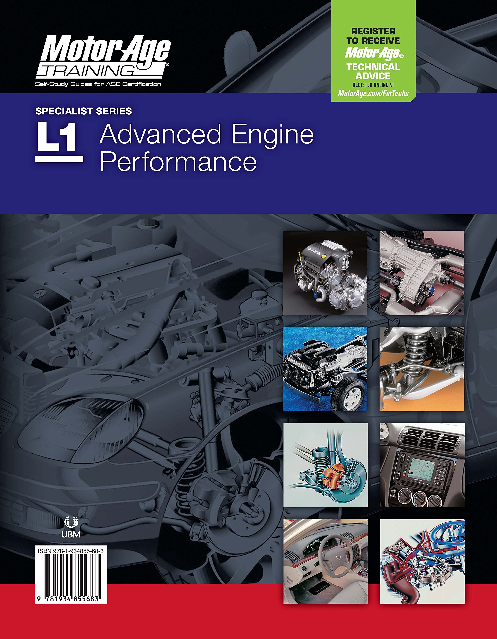 ASE L1 Test Prep - Advanced Engine Performance Specialist Study Guide  (Motor Age Training): 9781934855218: Amazon.com: Books