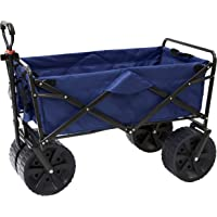 Mac Sports Heavy Duty Collapsible Folding All Terrain Utility Beach Wagon  Cart 019126c7e