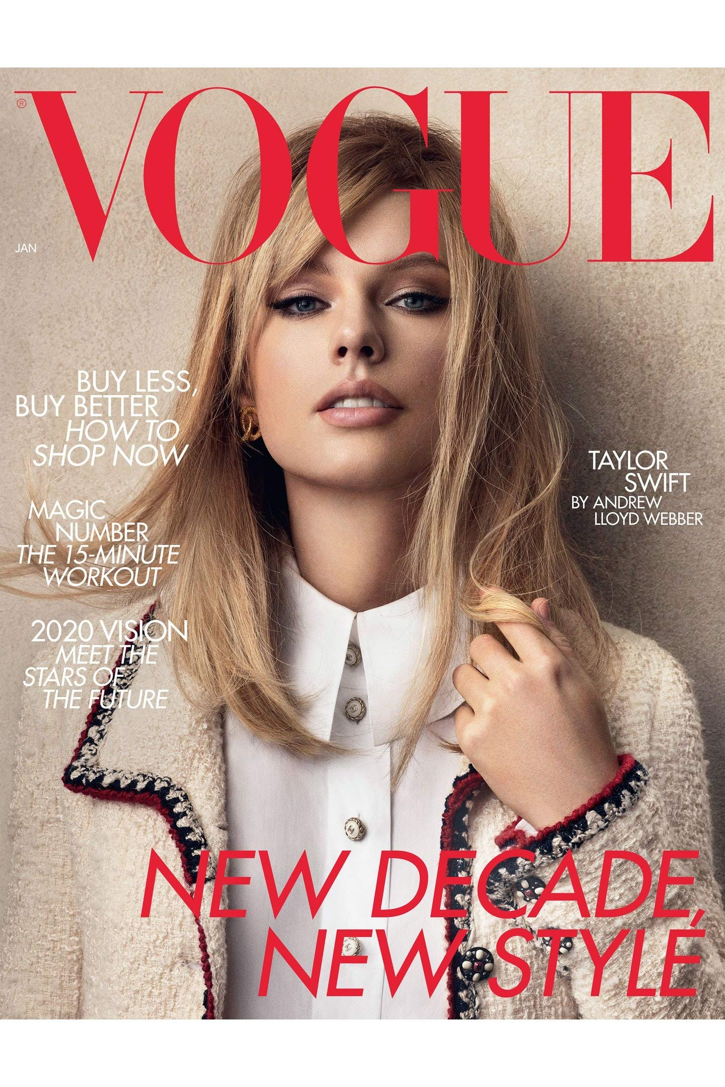 Vogue Uk Magazine January 2020 Taylor Swift Cover Vogue Uk Amazon Com Books