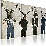 murando - Bilder 120x80 cm - Leinwandbilder - Fertig Aufgespannt - Vlies Leinwand - 3 Teilig - Wandbilder XXL - Kunstdrucke - Wandbild - Abstrakt 020115-1