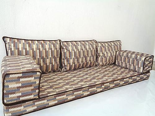 Amazon.com: Modern floor seating,Arabic floor sofa,Arabic ...
