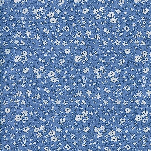 Tela de algodón estampada - La fleur de la liberté - tela floral ...