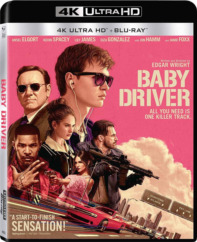 Baby Driver [4K Ultra HD + Blu-ray]