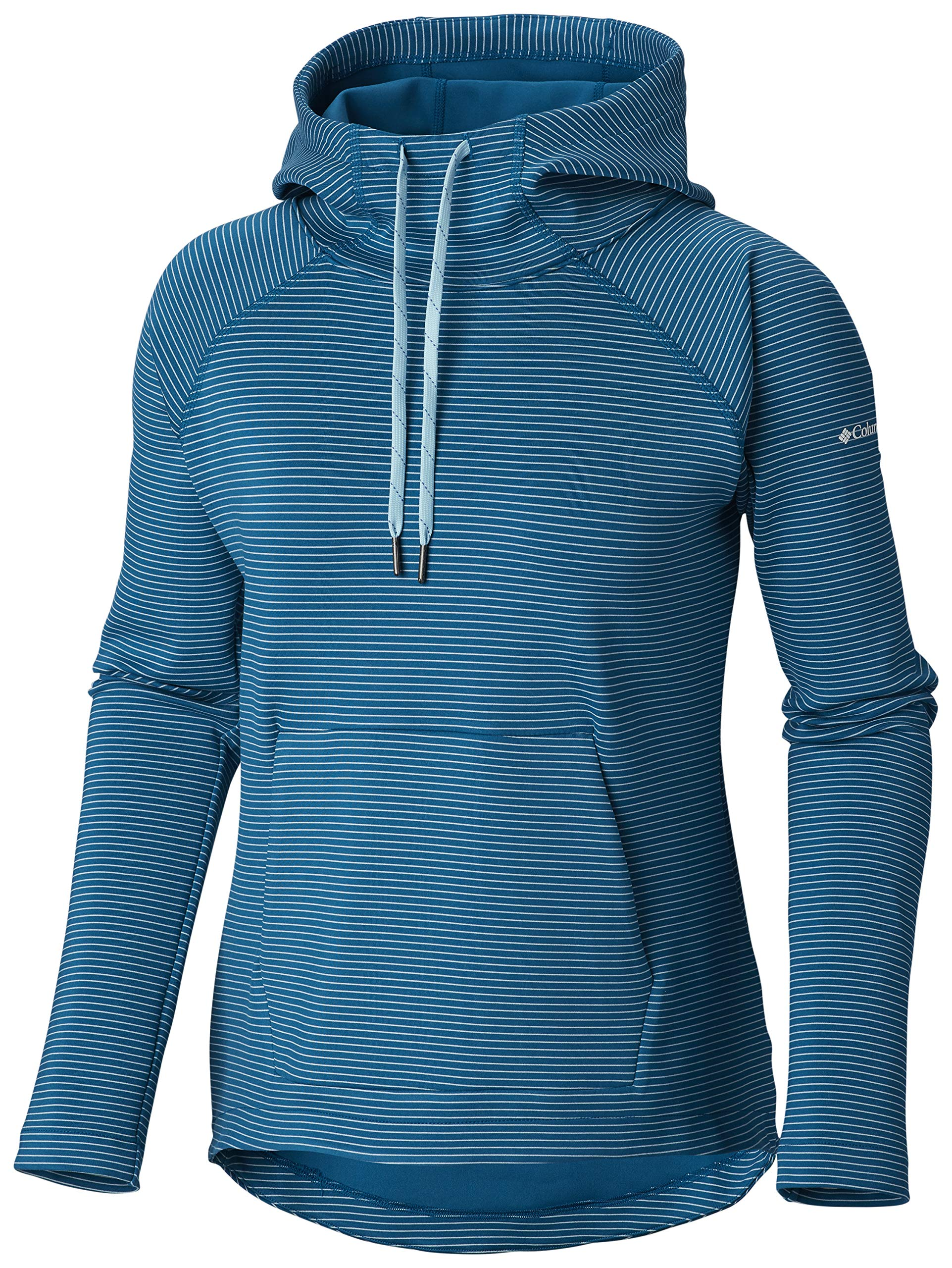 Columbia Women's Bryce Canyon Hoodie,Siberia Stripe,Medium by Columbia