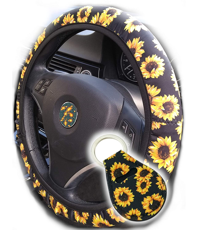 Amazon.com: La funda para volante de girasol más cómoda y ...