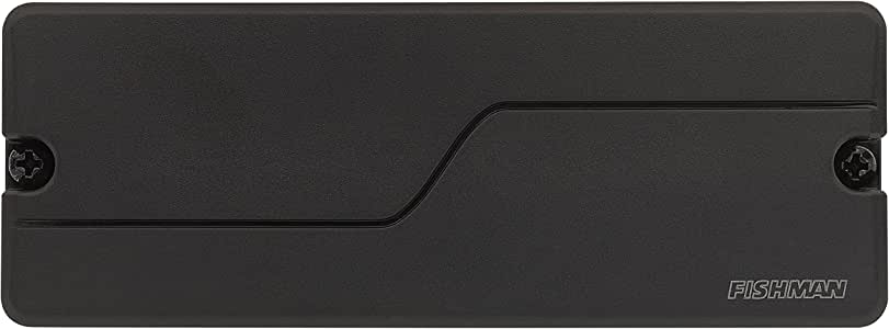 Fishman Fluence 8-String Modern Humbucker Alnico Pickups, Black Plastic