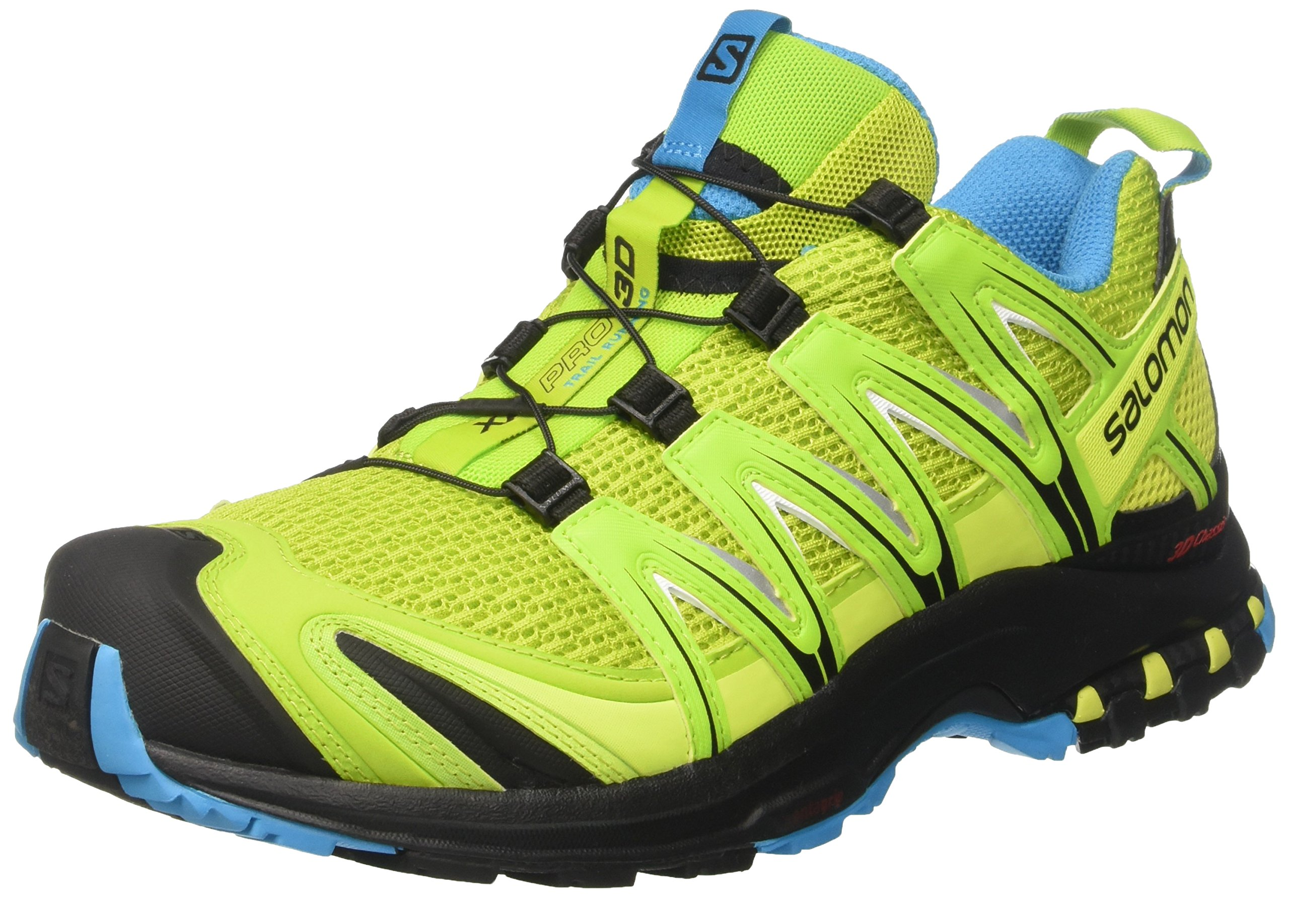 Salomon Men's XA Pro 3D Trail Running Shoe (8.5 D(M) US, Lime Green/Hawaiian/Black)