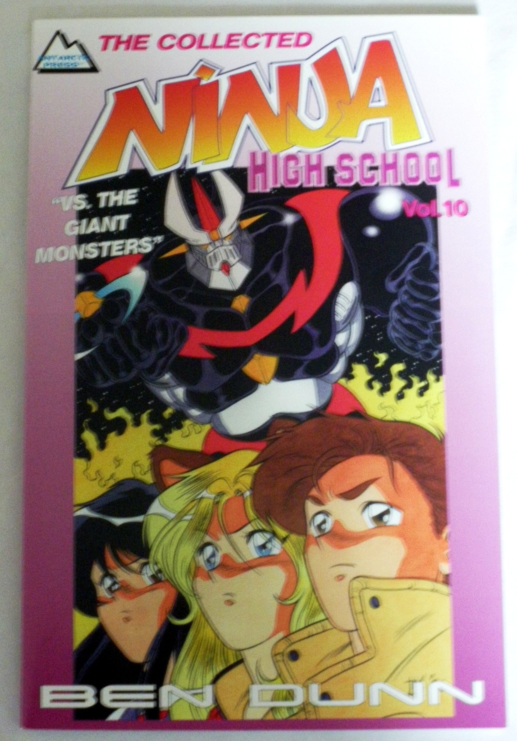 The Collected Ninja High School Vol 10 Vs. The Giant ...