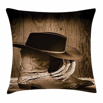 Amazon Ambesonne Western Decor Throw Pillow Cushion Cover Wild Custom Western Style Decorative Pillows