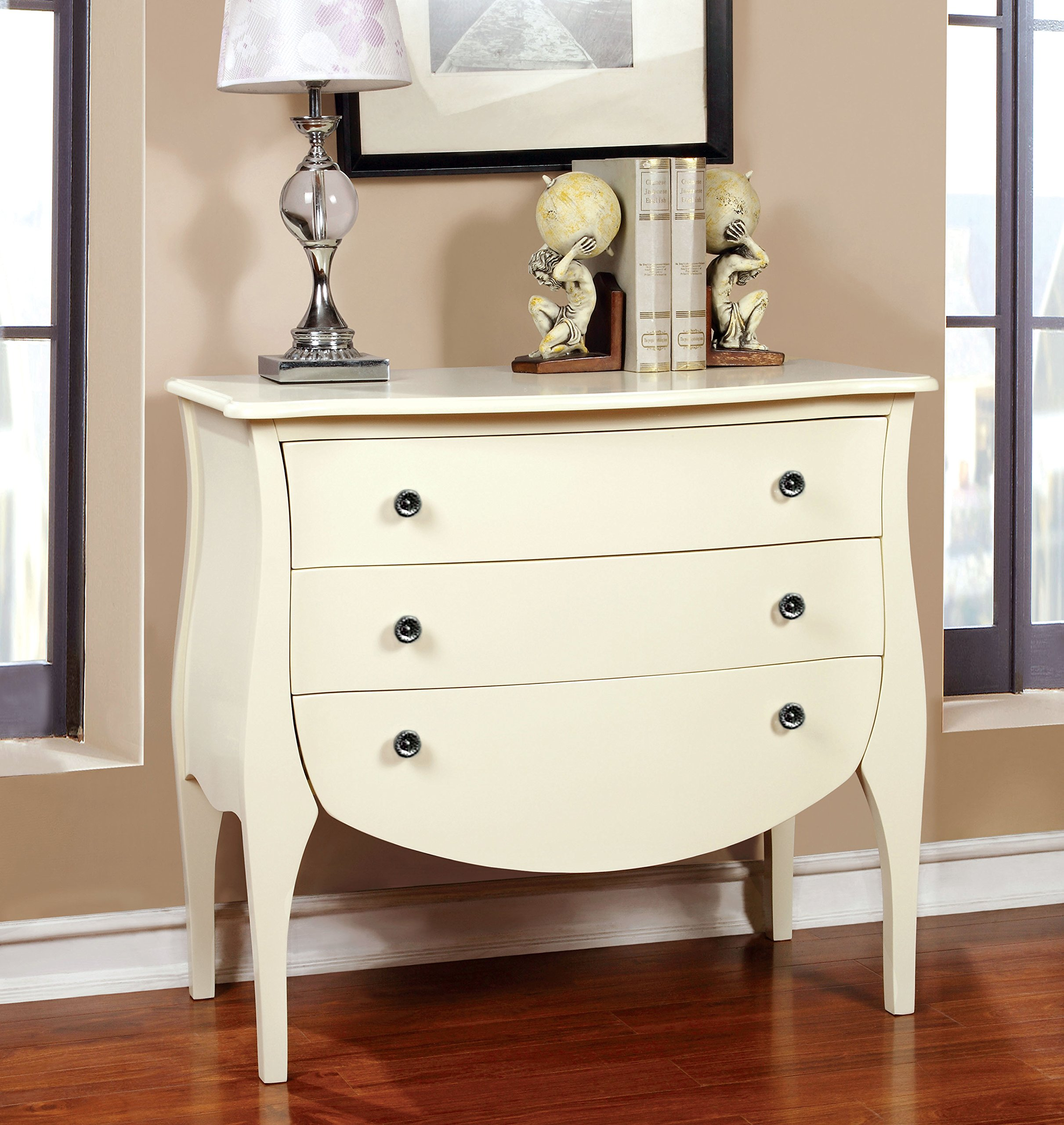 Furniture of America Delphine French Country Storage Chest, White