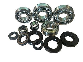 Productos Letter Juego Motor + Onda anillos de sellado rodamiento Derbi Senda R DRD Pro Racing Xtreme Motor D50B0 Ebe/Ebs: Amazon.es: Coche y moto