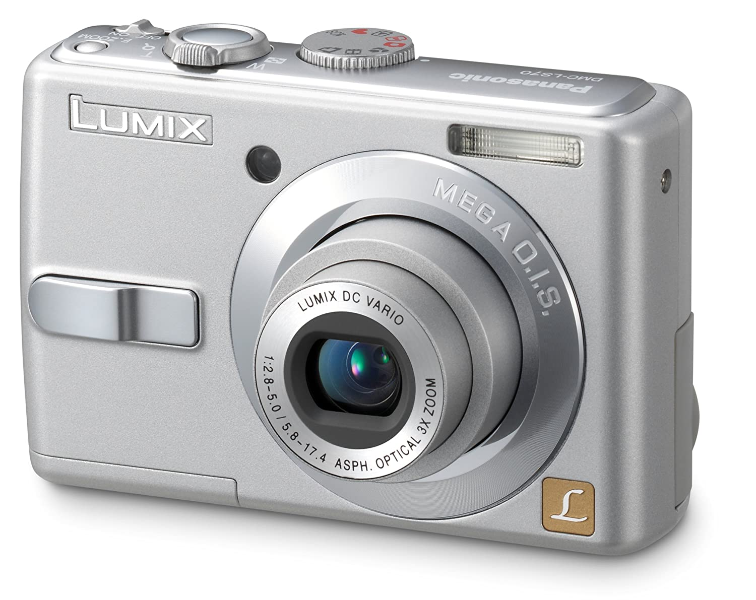 Amazon.com : Panasonic Lumix DMC-LS70S 7MP Digital Camera with 3x Image  Stabilized Zoom : Point And Shoot Digital Cameras : Camera & Photo