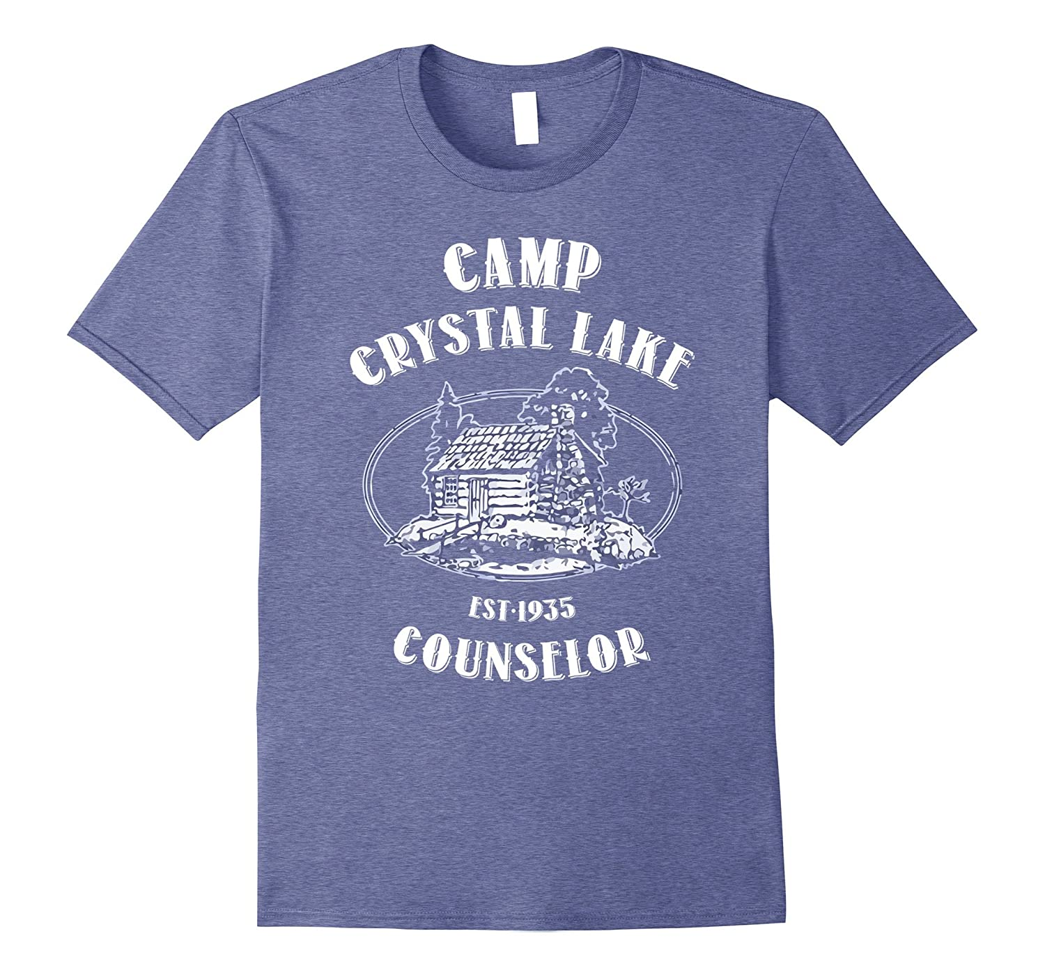 Camp shirts gifts Crystal Lake Counselor Vintage retro style-FL