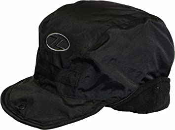 Highlander - Gorra de adultos Mountain, color negro, M, HAT080-BK-