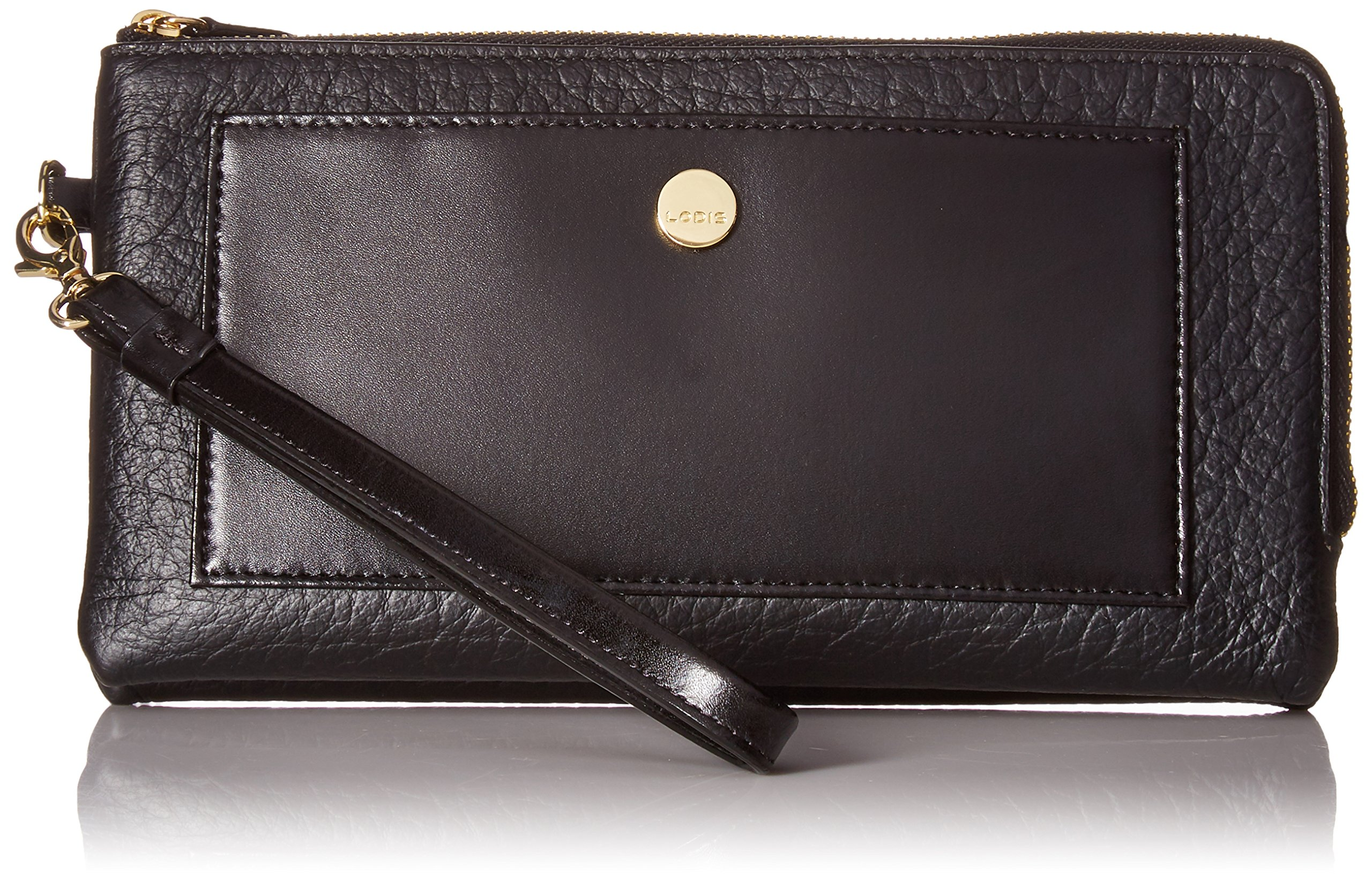 Lodis in the Mix Rfid Rosalind Wristlet, Jet