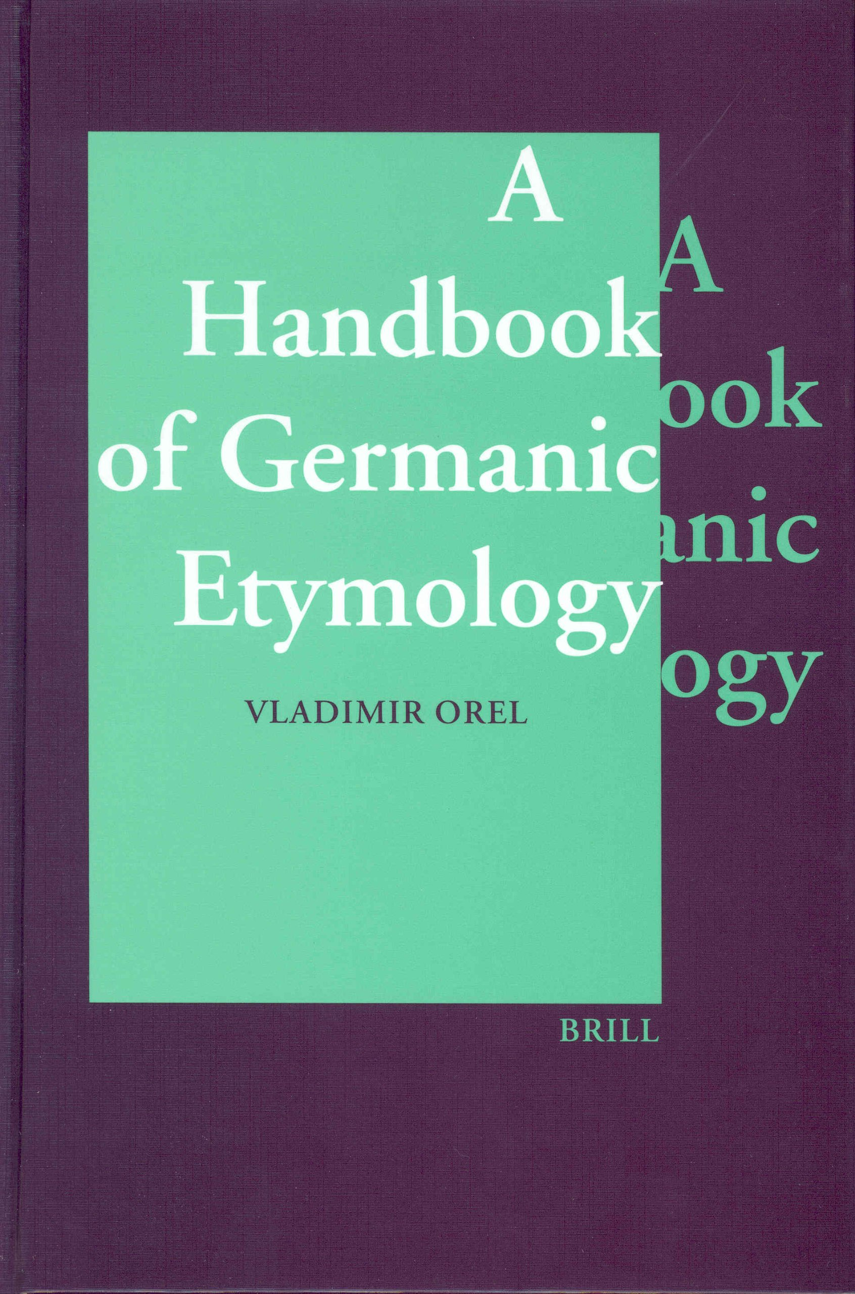 Read Online A Handbook of Germanic Etymology pdf epub