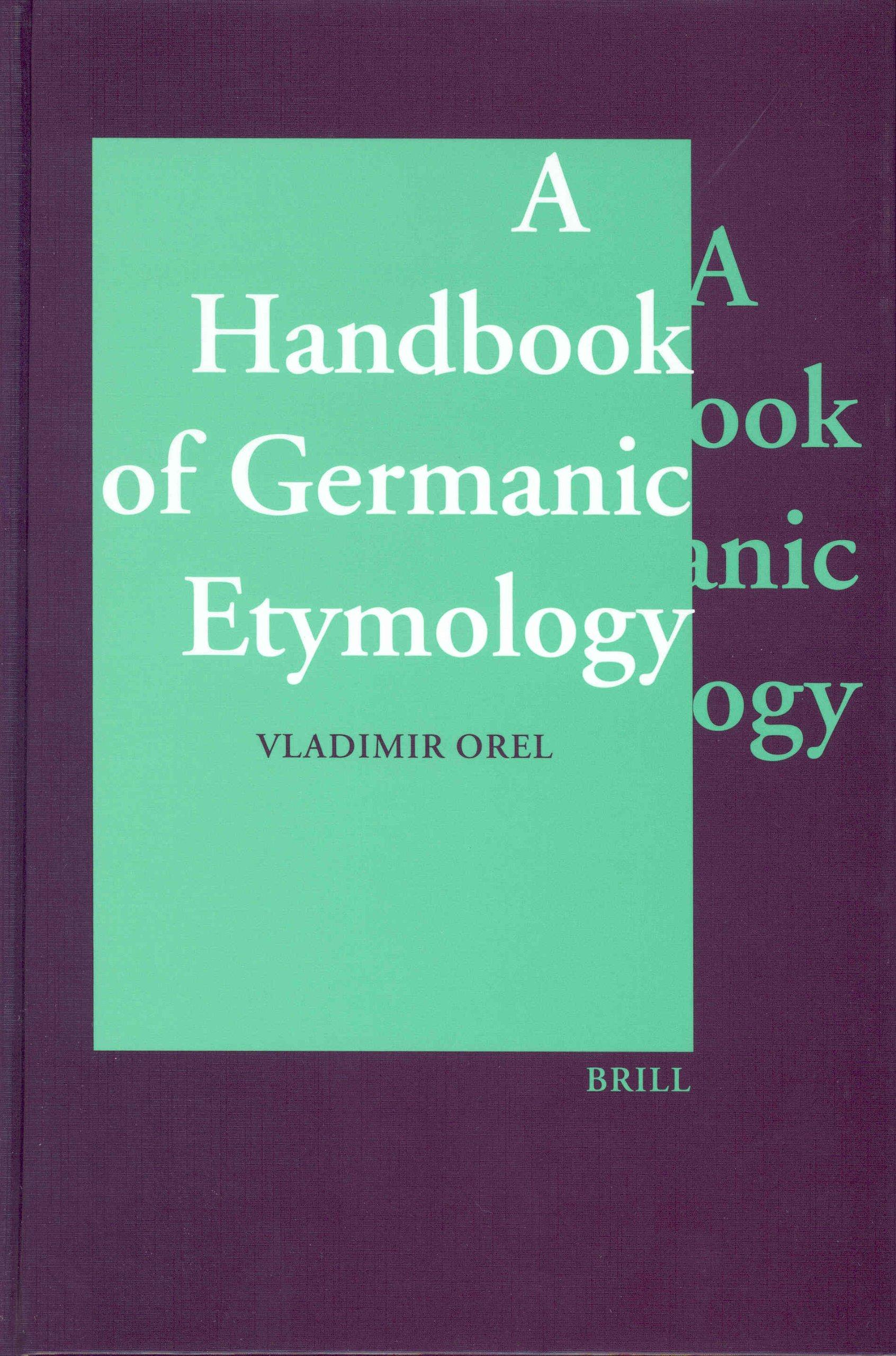 Download A Handbook of Germanic Etymology pdf epub