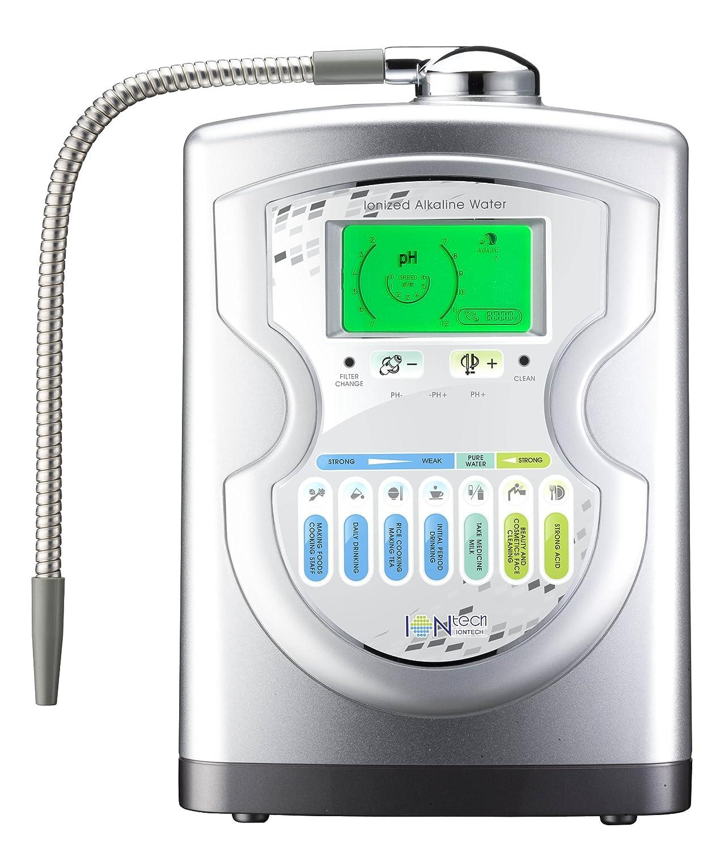 IntelGadgets IONtech IT-757 Advanced Alkaline Water Ionizer Machine 7 pH Water Levels, Platinum Titanium Electrolysis Plates