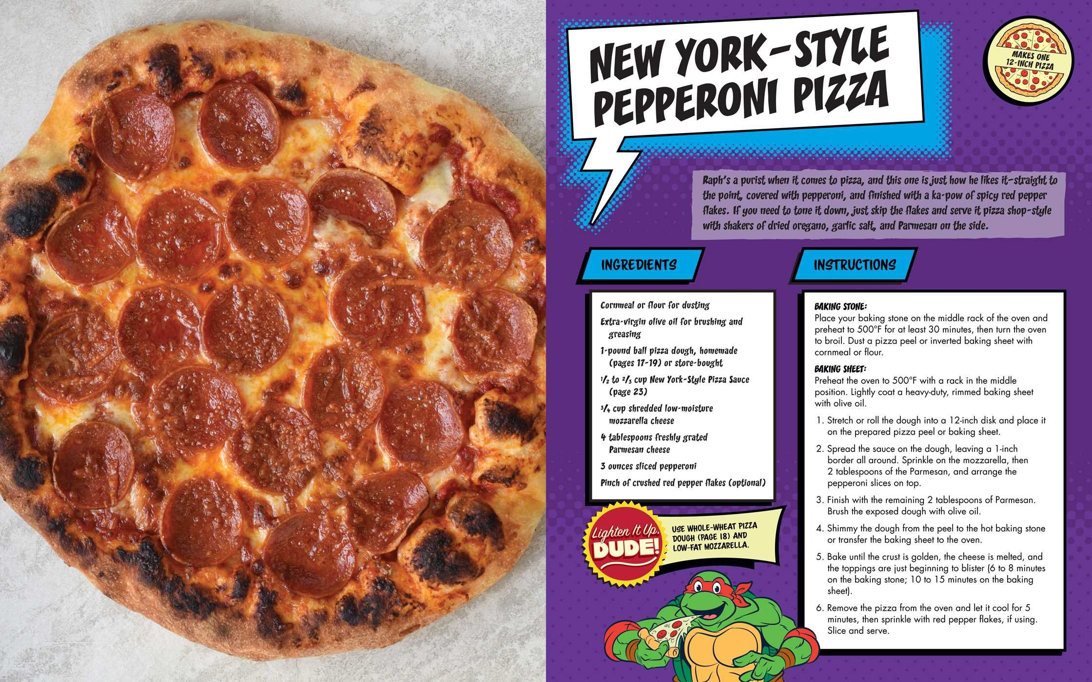 The Teenage Mutant Ninja Turtles Pizza Cookbook: Amazon.es ...